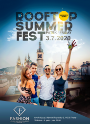 Rooftop Summer Fest / Fashion Club Praha
