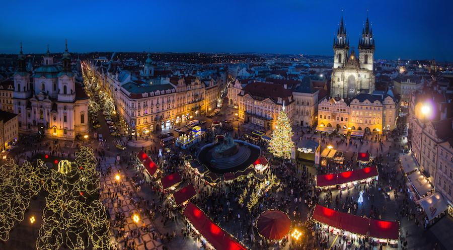 Новогодние праздники в Праге!